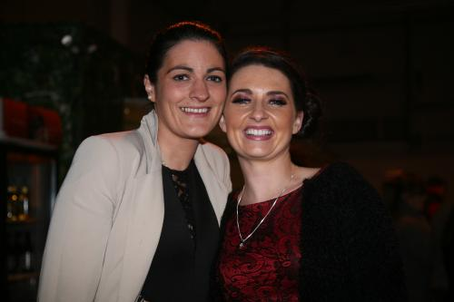 Linda Roche (Caherdrinna) and Mary Ellen Finn (Mitchelstown) who attended last Saturday night's Kube event in Mitchelstown Enterprise Centre. Photo: John Ahern