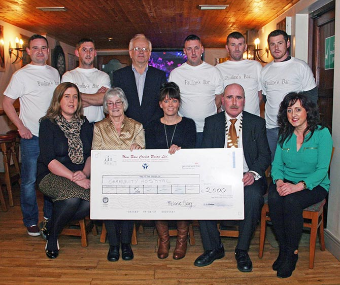 New Ross Lions Club and New Ross Swimming Club The Kube Fundraiser