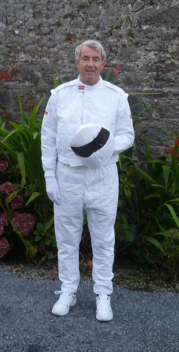 The much-anticipated reveal astonished locals as none other than Fine Gael TD Michael Lowry stepped out of the suit.